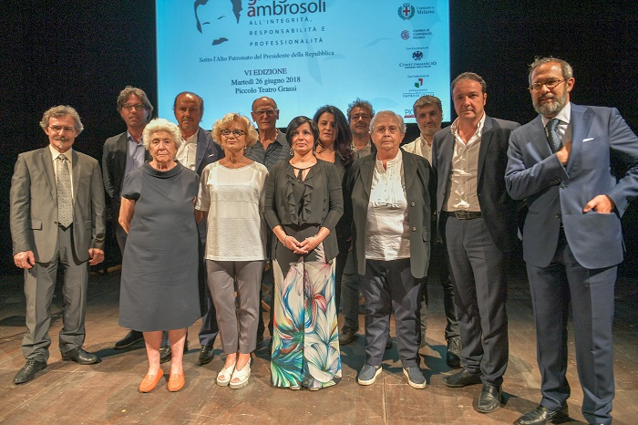 Premio Giorgio Ambrosoli, giù il sipario sulla sesta edizione