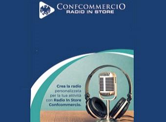 """Confcommercio Radio in Store: negozi in """"musica"""""""