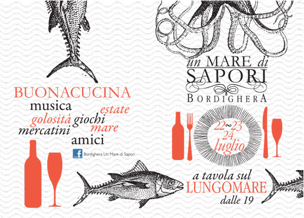 """""""Bordighera Un mare di sapori"""" – 6ª edizione 2019"""