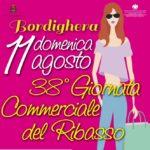 """Domenica 11 agosto 2019 torna la""""Giornata Commerciale del Ribasso"""""""