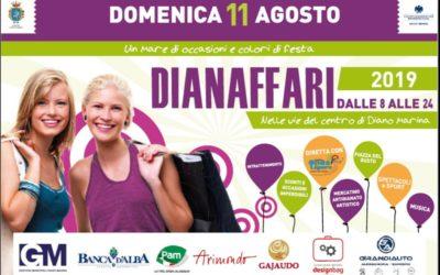 A Diano Marina un mare di occasioni e colori di festa con Dianaffari 2019