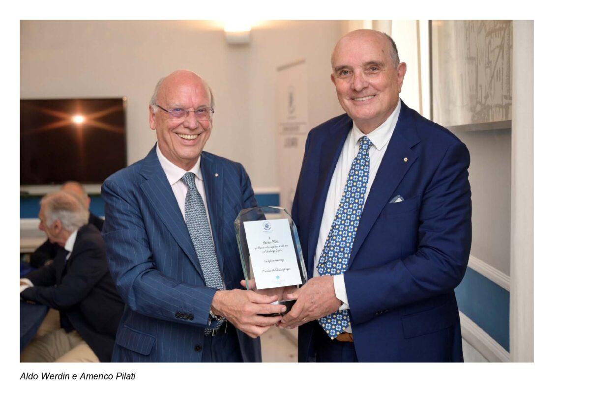 Federalberghi Liguria rinnova le cariche: Aldo Werdin nuovo Presidente, Americo Pilati nominato Presidente Onorario di Federalberghi Liguria
