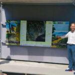 """""""DianeseOutdoor"""", installata la mappa della rete sentieristica del Golfo Dianese. Progetto sostenuto da Federalberghi, Confcommercio e comune di Diano Marina"""
